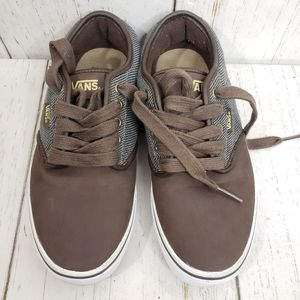 Vans brown low tops